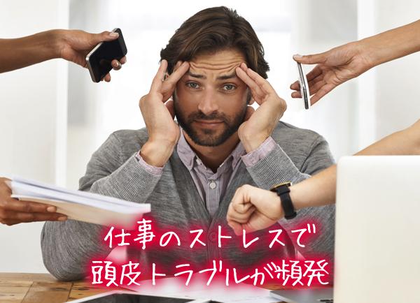 仕事のストレスで頭皮トラブルが頻発.jpg