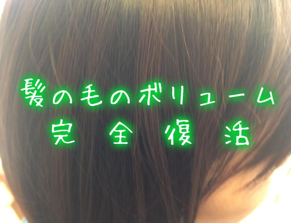 髪の毛のボリューム完全復活.jpg